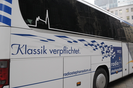 BLAGUSS RADIO STEPHANSDOM Bus